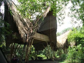 Bambus:Green School Project in Bali, Indonesia